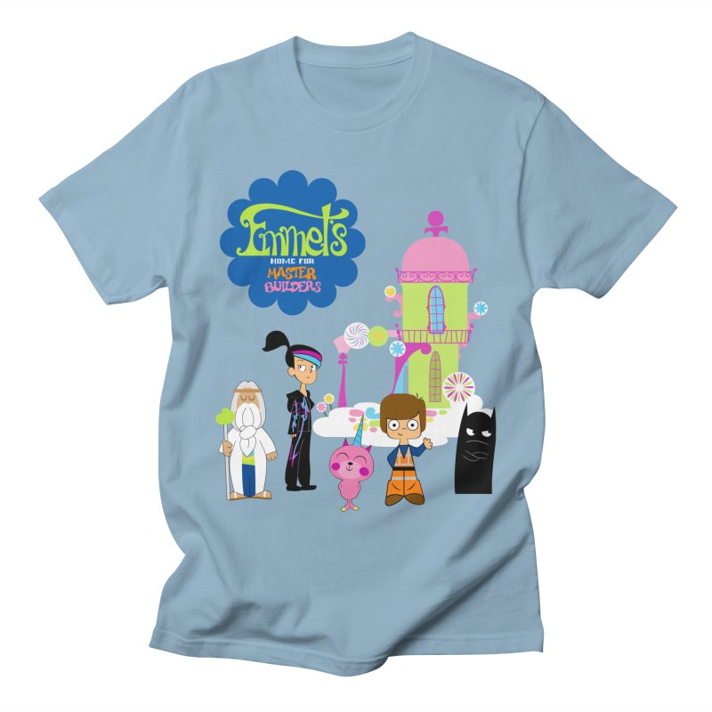 Emmet's Home For Master Builders Men's T-Shirt by Tees, prints, and more by Kiki B