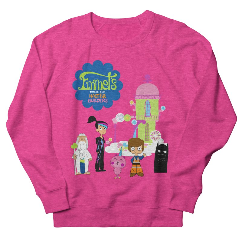 Emmet's Home For Master Builders Men's French Terry Sweatshirt by Tees, prints, and more by Kiki B