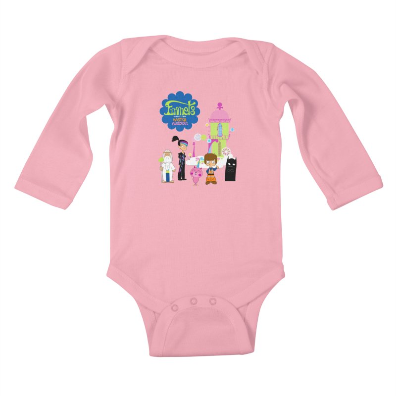 Emmet's Home For Master Builders Kids Baby Longsleeve Bodysuit by Tees, prints, and more by Kiki B