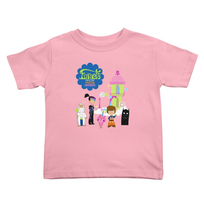 Emmet's Home For Master Builders Kids Toddler T-Shirt by Tees, prints, and more by Kiki B