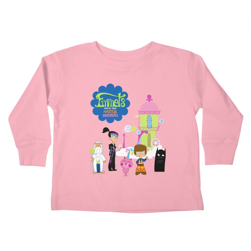 Emmet's Home For Master Builders Kids Toddler Longsleeve T-Shirt by Tees, prints, and more by Kiki B