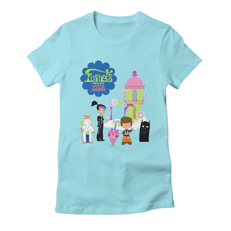 Emmet's Home For Master Builders Women's Fitted T-Shirt by Tees, prints, and more by Kiki B