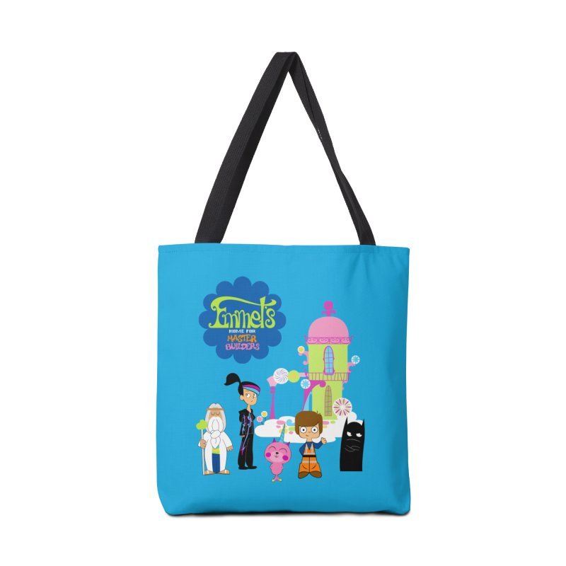 Emmet's Home For Master Builders Accessories Bag by Tees, prints, and more by Kiki B