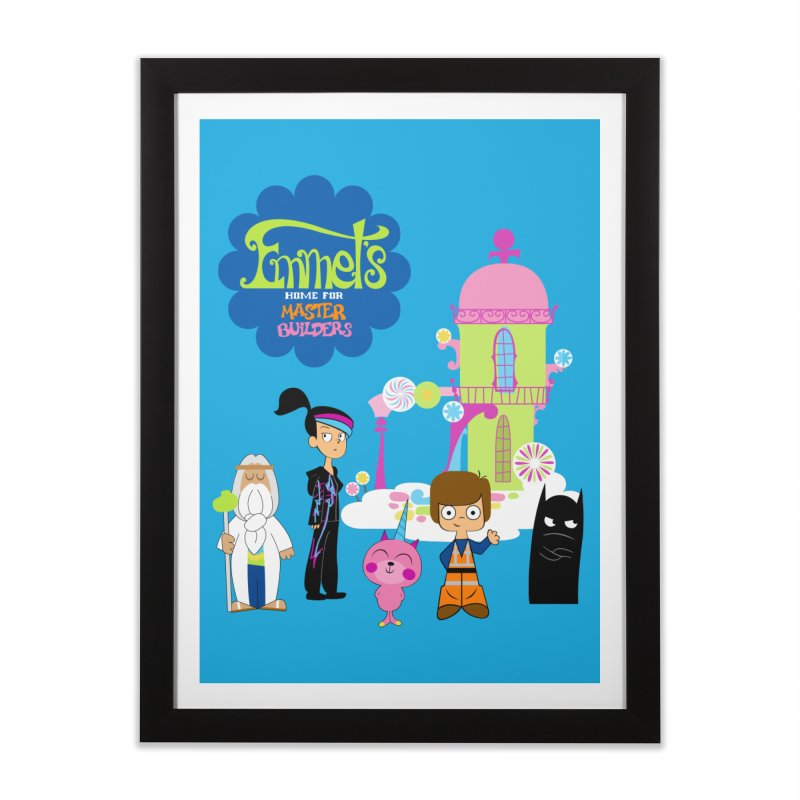 Emmet's Home For Master Builders   by Tees, prints, and more by Kiki B