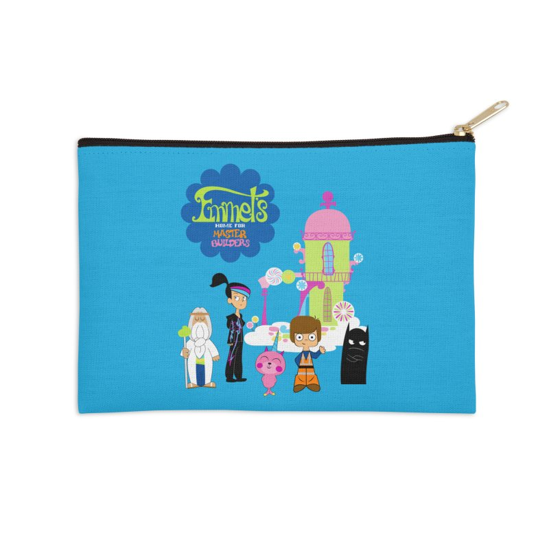 Emmet's Home For Master Builders Accessories Zip Pouch by Tees, prints, and more by Kiki B