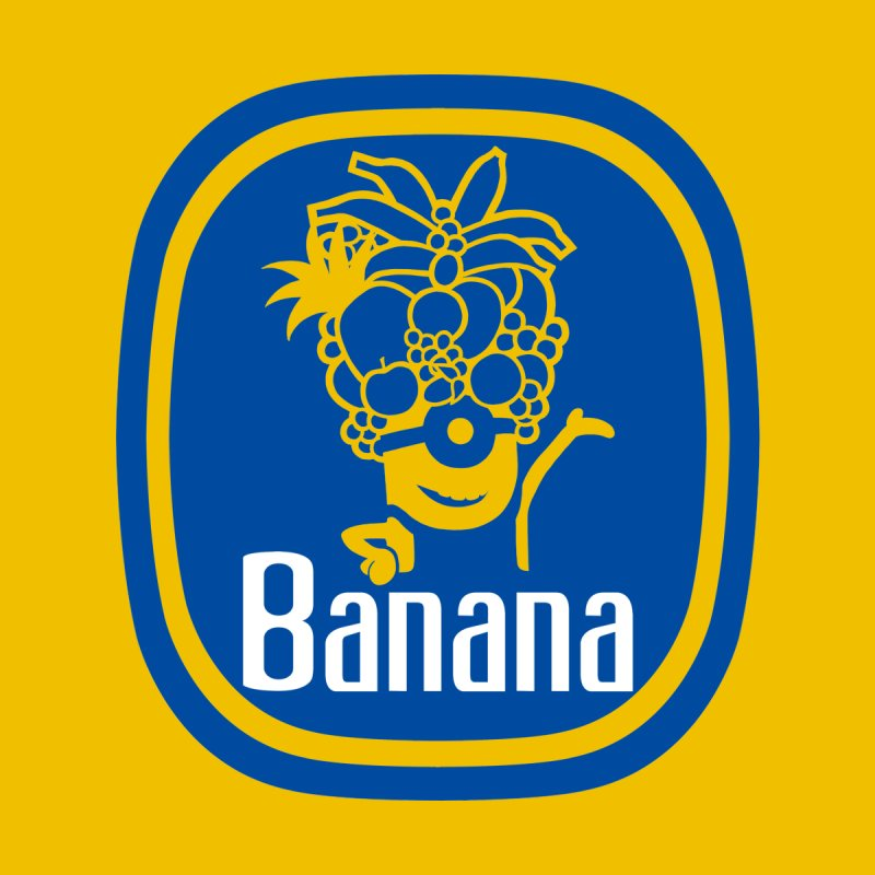 Banana! Women's Fitted T-Shirt by Tees, prints, and more by Kiki B