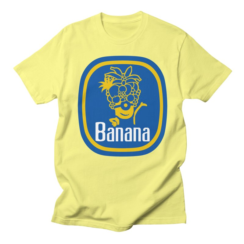 Banana! Men's French Terry Pullover Hoody by Tees, prints, and more by Kiki B
