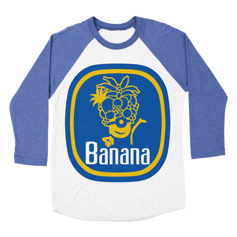 Banana! Men's Baseball Triblend T-Shirt by Tees, prints, and more by Kiki B