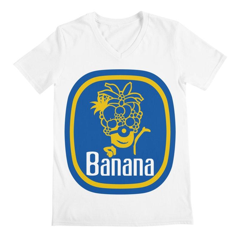 Banana! Men's V-Neck by Tees, prints, and more by Kiki B