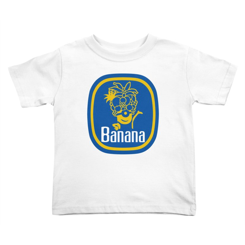 Banana! Kids Toddler T-Shirt by Tees, prints, and more by Kiki B