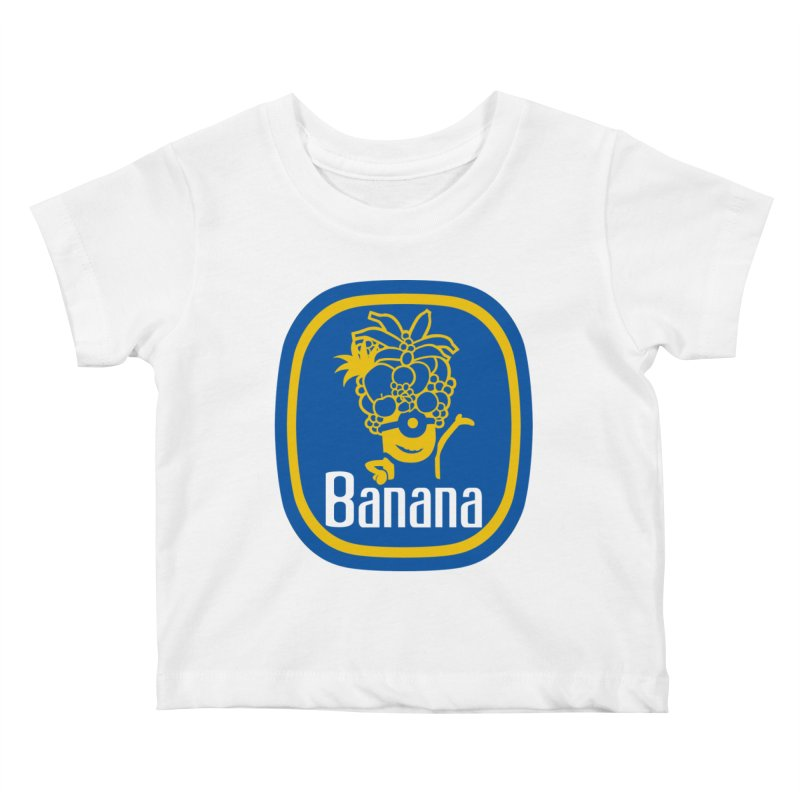 Banana! Kids Baby T-Shirt by Tees, prints, and more by Kiki B