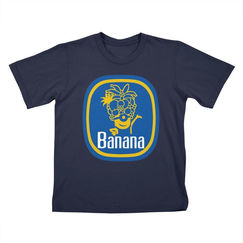 Banana! Kids T-shirt by Tees, prints, and more by Kiki B