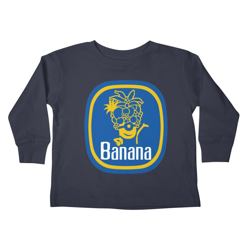 Banana! Kids Toddler Longsleeve T-Shirt by Tees, prints, and more by Kiki B
