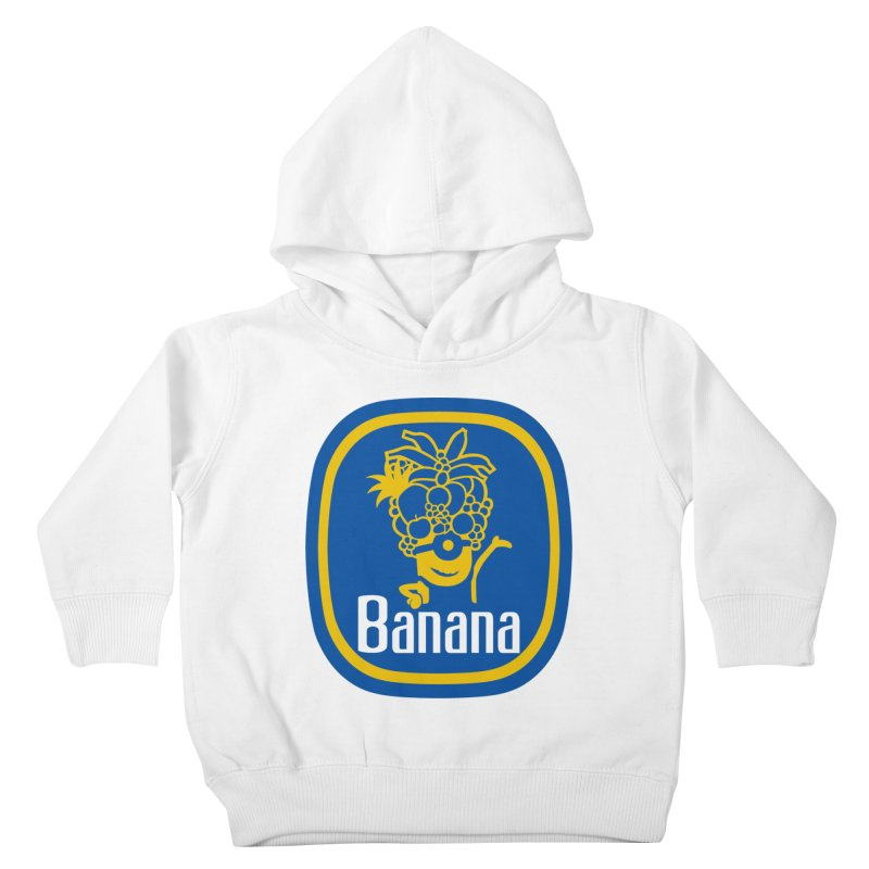 Banana! Kids Toddler Pullover Hoody by Tees, prints, and more by Kiki B