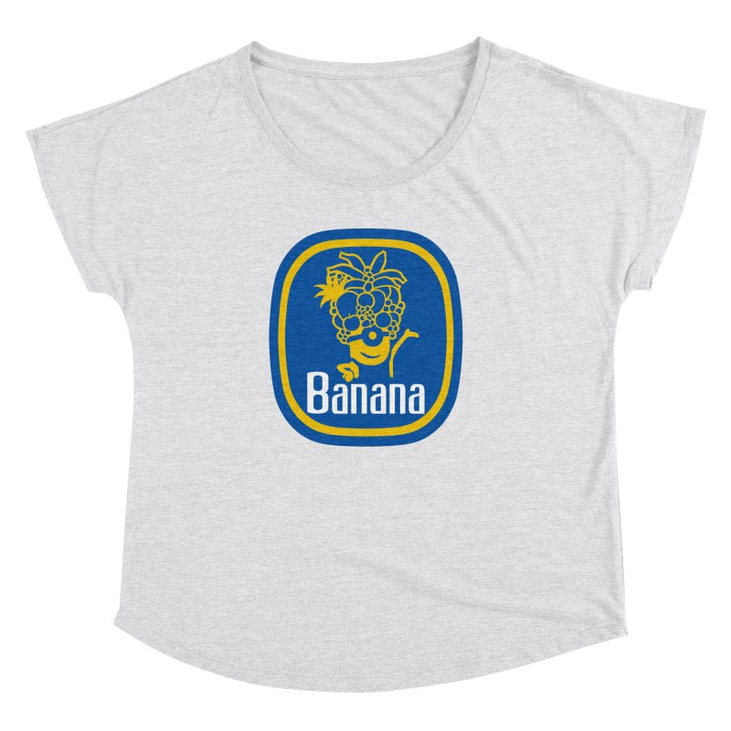 Banana! Women's Dolman Scoop Neck by Tees, prints, and more by Kiki B