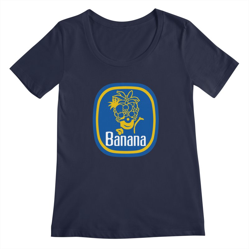 Banana! Women's Scoopneck by Tees, prints, and more by Kiki B