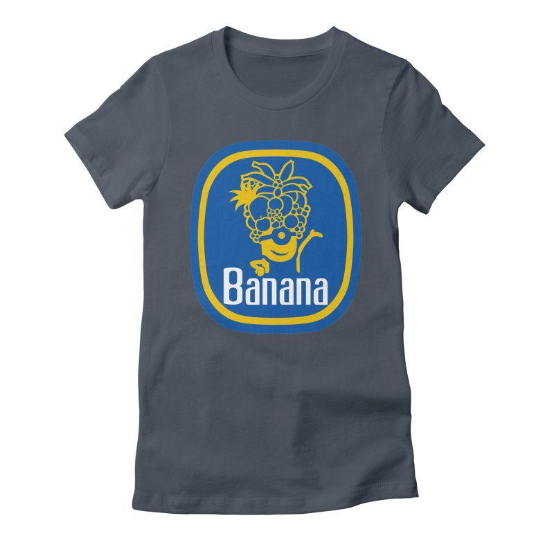 Banana! Women's French Terry Pullover Hoody by Tees, prints, and more by Kiki B