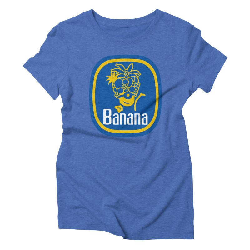 Banana! Women's Triblend T-Shirt by Tees, prints, and more by Kiki B