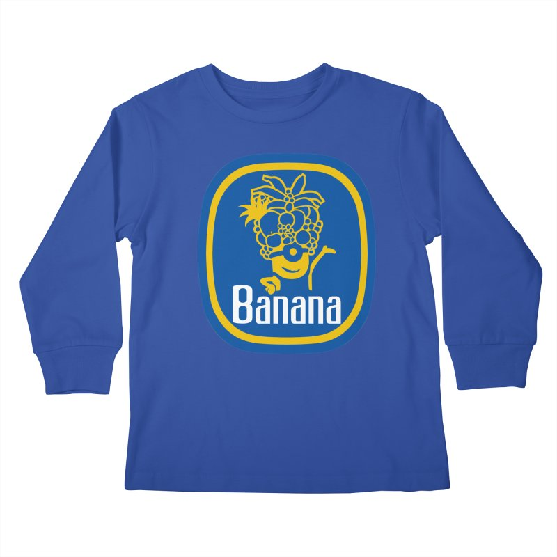 Banana! Kids Longsleeve T-Shirt by Tees, prints, and more by Kiki B