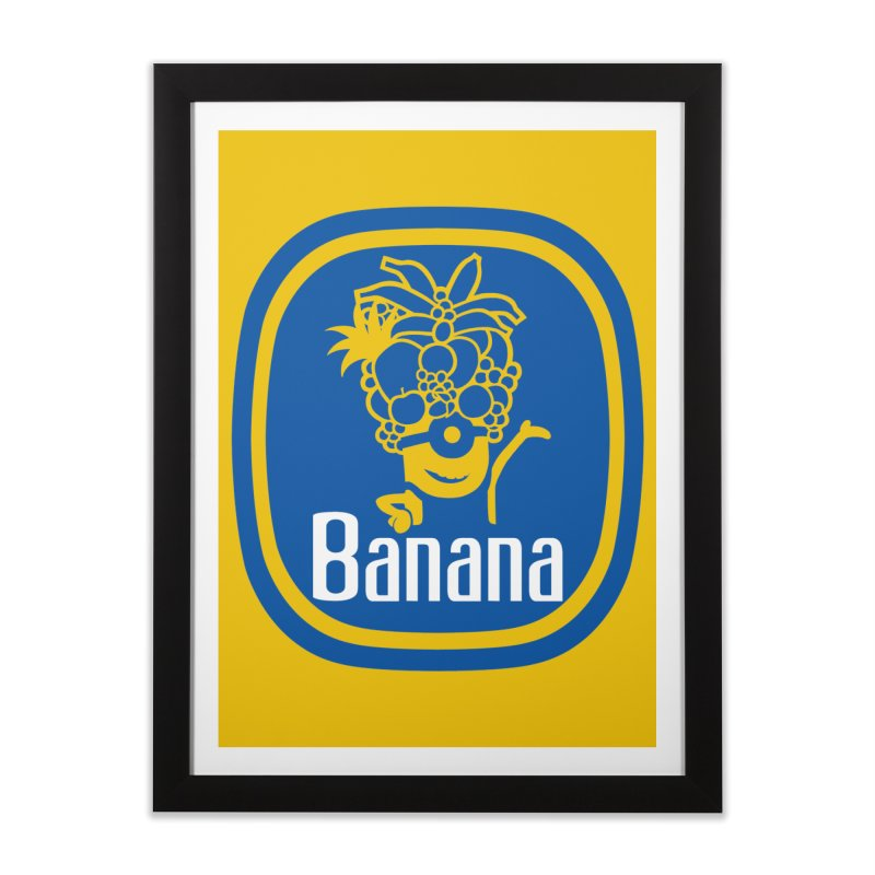 Banana!   by Tees, prints, and more by Kiki B