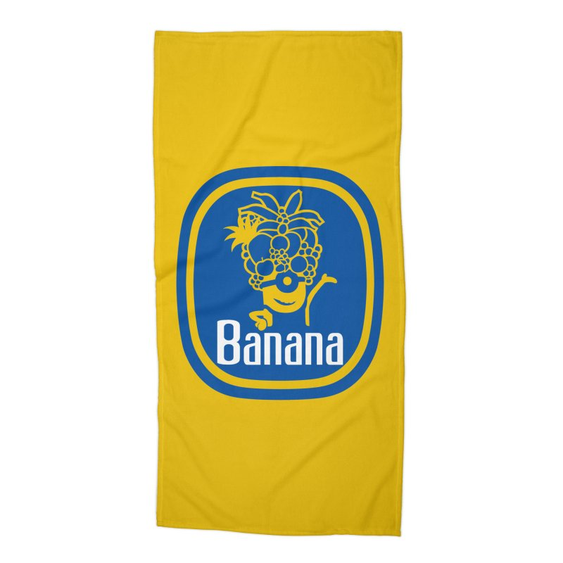 Banana! Accessories Beach Towel by Tees, prints, and more by Kiki B