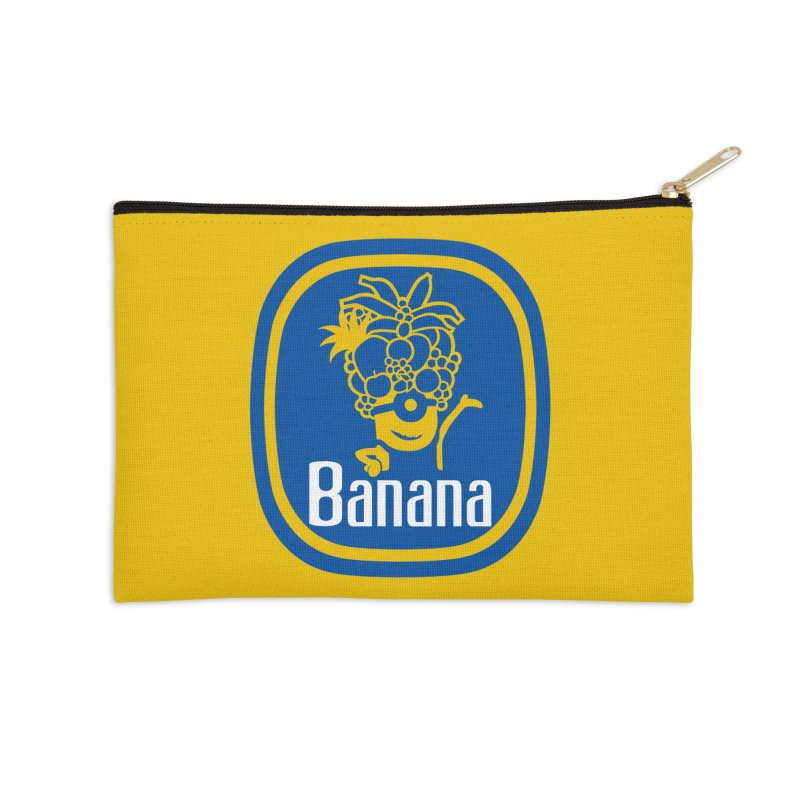 Banana! Accessories Zip Pouch by Tees, prints, and more by Kiki B