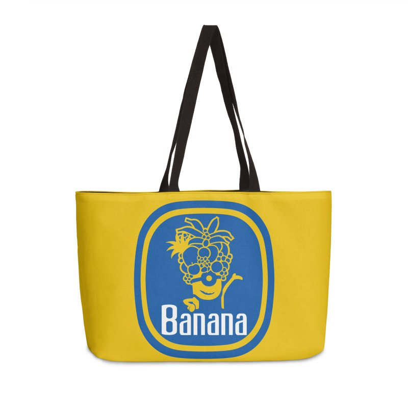 Banana! Accessories Bag by Tees, prints, and more by Kiki B