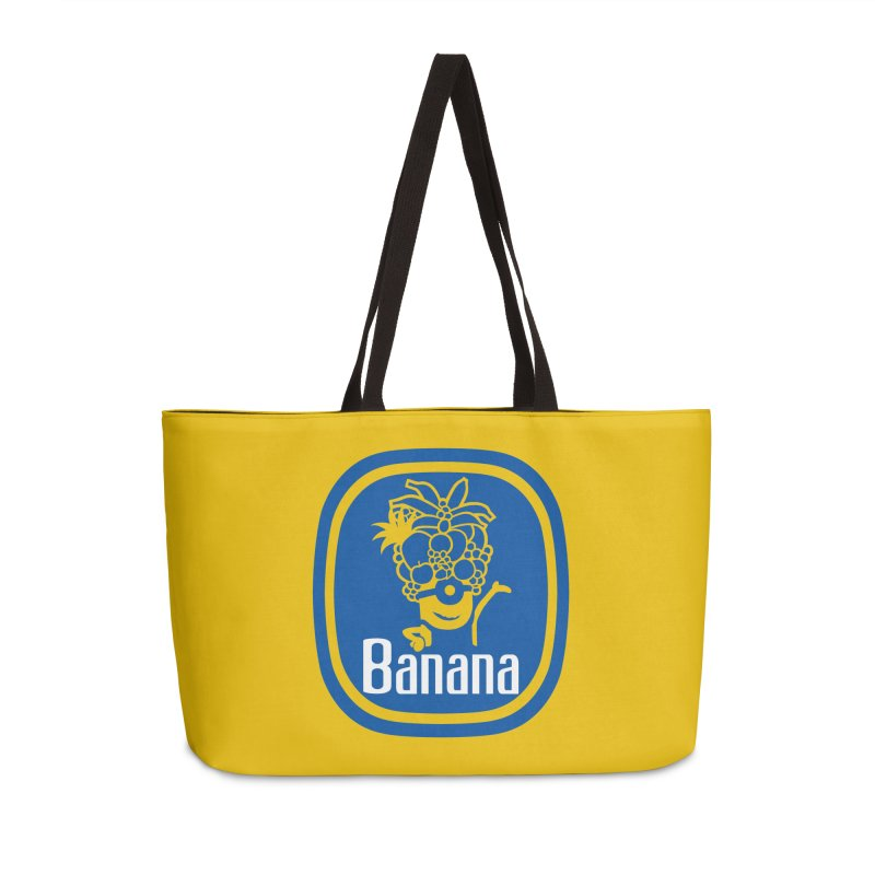 Banana! in Weekender Bag by Tees, prints, and more by Kiki B