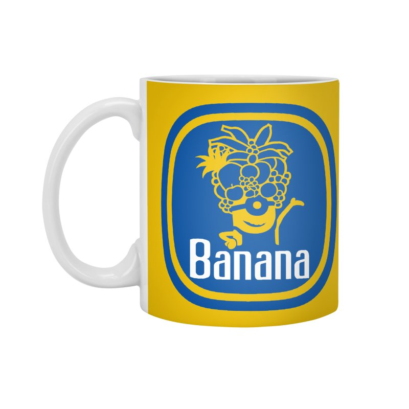 Banana! Accessories Mug by Tees, prints, and more by Kiki B