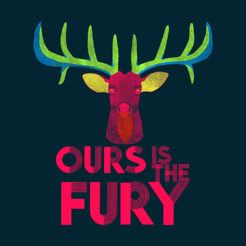 Ours Is The Fury Men's T-shirt by Tees, prints, and more by Kiki B