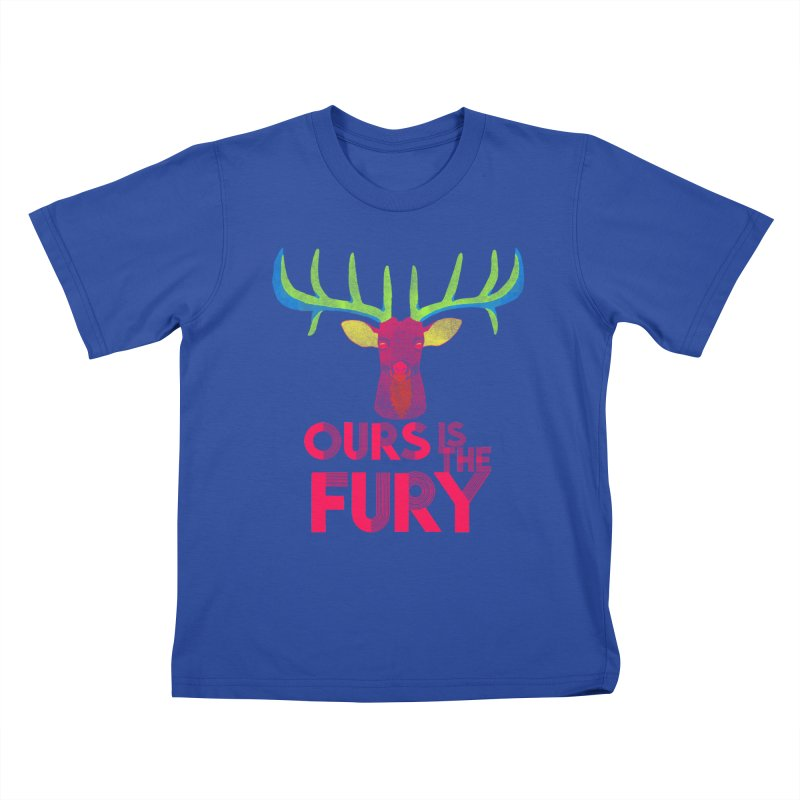 Ours Is The Fury Kids T-shirt by Tees, prints, and more by Kiki B