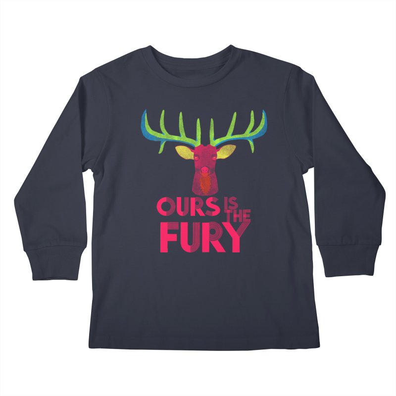 Ours Is The Fury   by Tees, prints, and more by Kiki B