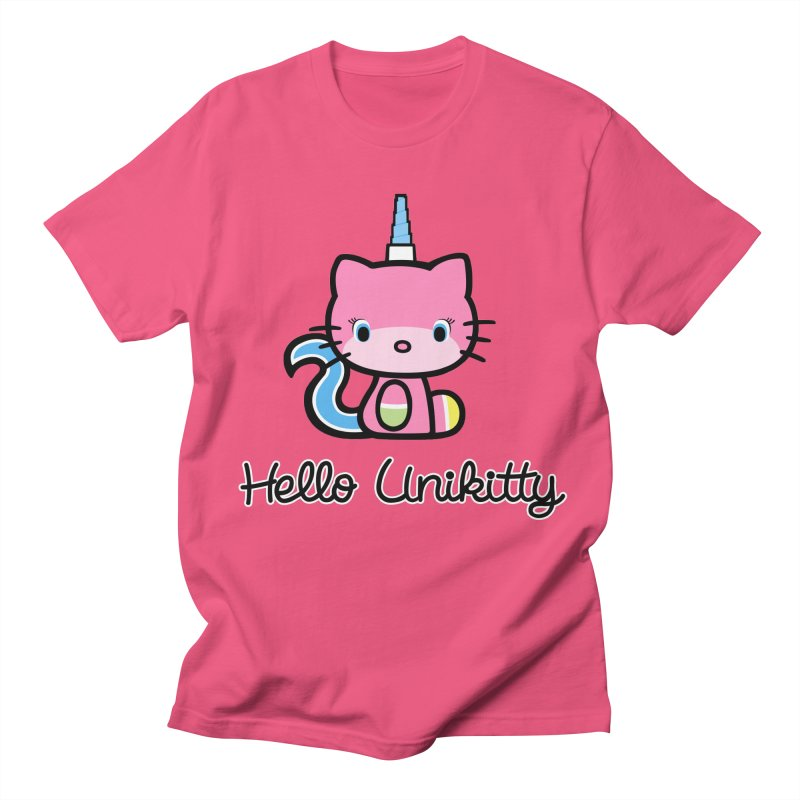 Hello Unikitty Men's Regular T-Shirt by Tees, prints, and more by Kiki B