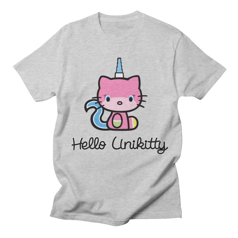 Hello Unikitty Men's T-Shirt by Tees, prints, and more by Kiki B