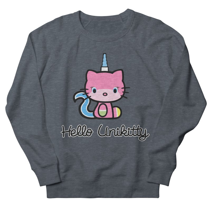 Hello Unikitty Men's Sweatshirt by Tees, prints, and more by Kiki B