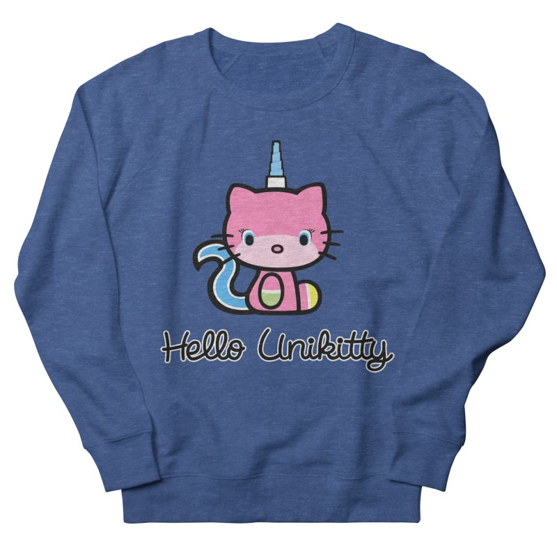 Hello Unikitty Men's French Terry Sweatshirt by Tees, prints, and more by Kiki B