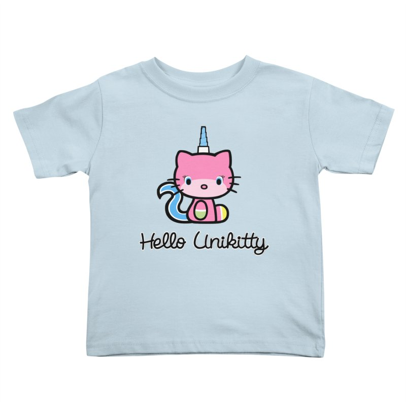 Hello Unikitty Kids Toddler T-Shirt by Tees, prints, and more by Kiki B
