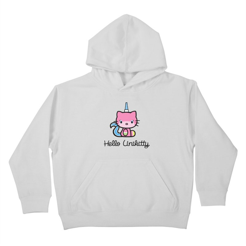 Hello Unikitty Kids Pullover Hoody by Tees, prints, and more by Kiki B
