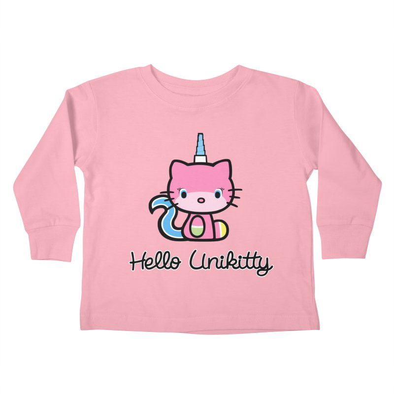Hello Unikitty Kids Toddler Longsleeve T-Shirt by Tees, prints, and more by Kiki B