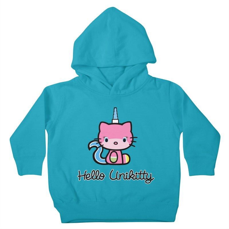 Hello Unikitty Kids Toddler Pullover Hoody by Tees, prints, and more by Kiki B