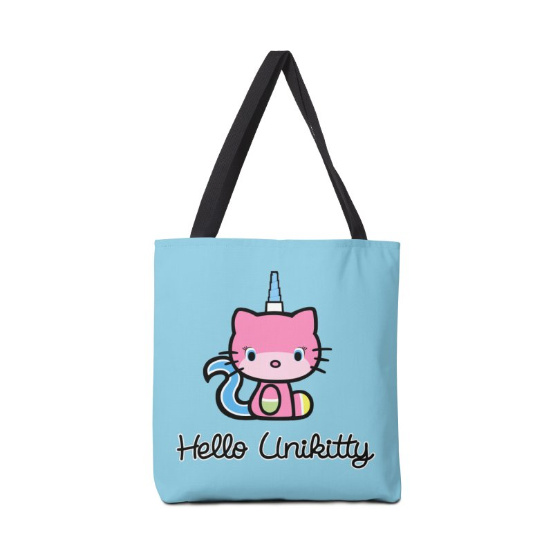 Hello Unikitty Accessories Bag by Tees, prints, and more by Kiki B