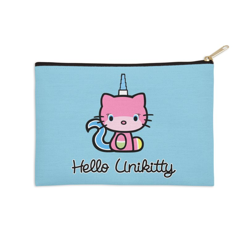 Hello Unikitty Accessories Zip Pouch by Tees, prints, and more by Kiki B