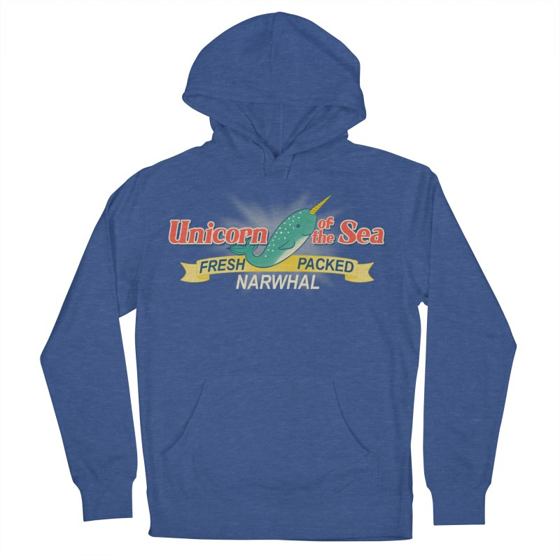 Unicorn of the Sea Women's Pullover Hoody by Tees, prints, and more by Kiki B