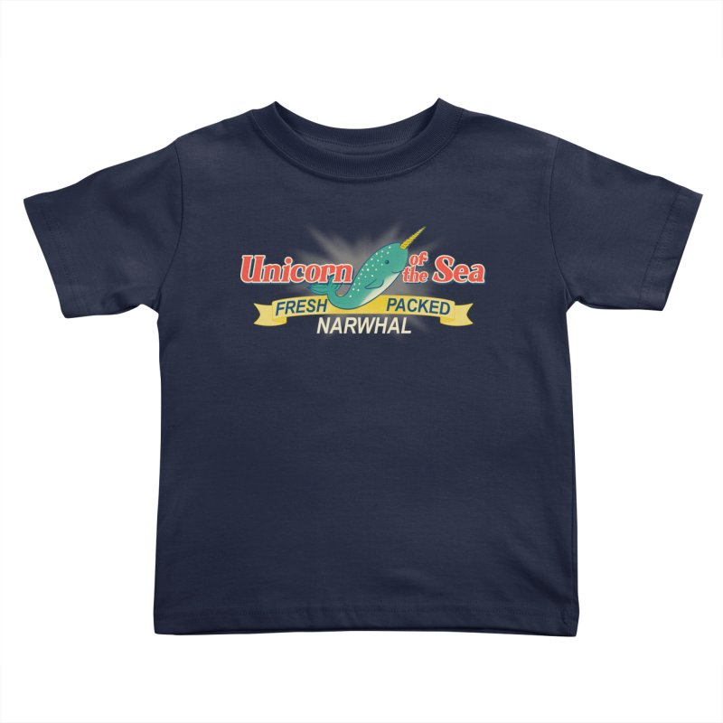 Unicorn of the Sea Kids Toddler T-Shirt by Tees, prints, and more by Kiki B