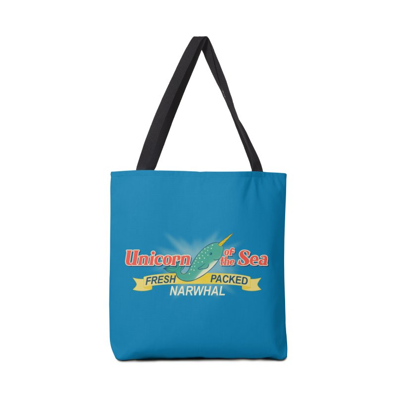 Unicorn of the Sea Accessories Bag by Tees, prints, and more by Kiki B