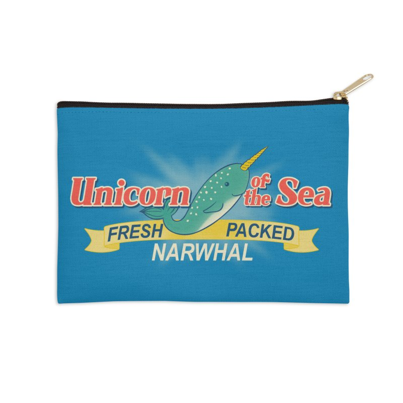 Unicorn of the Sea Accessories Zip Pouch by Tees, prints, and more by Kiki B