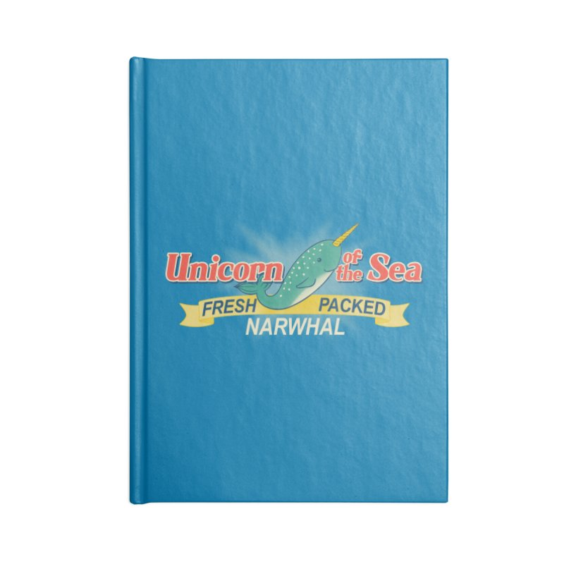 Unicorn of the Sea Accessories Notebook by Tees, prints, and more by Kiki B
