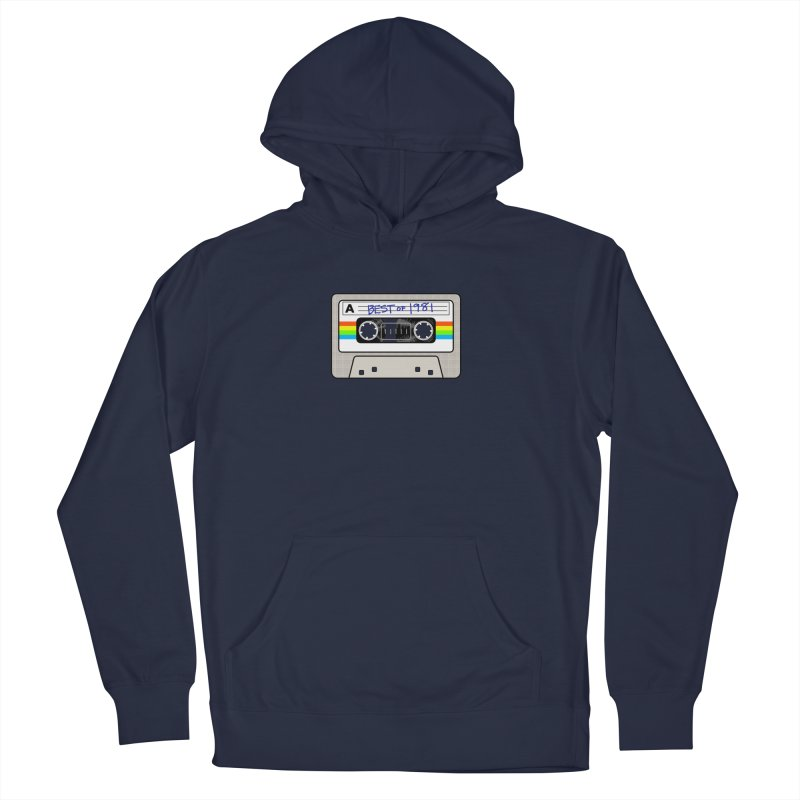 Mixtape: Best of 1981 Women's Pullover Hoody by Tees, prints, and more by Kiki B