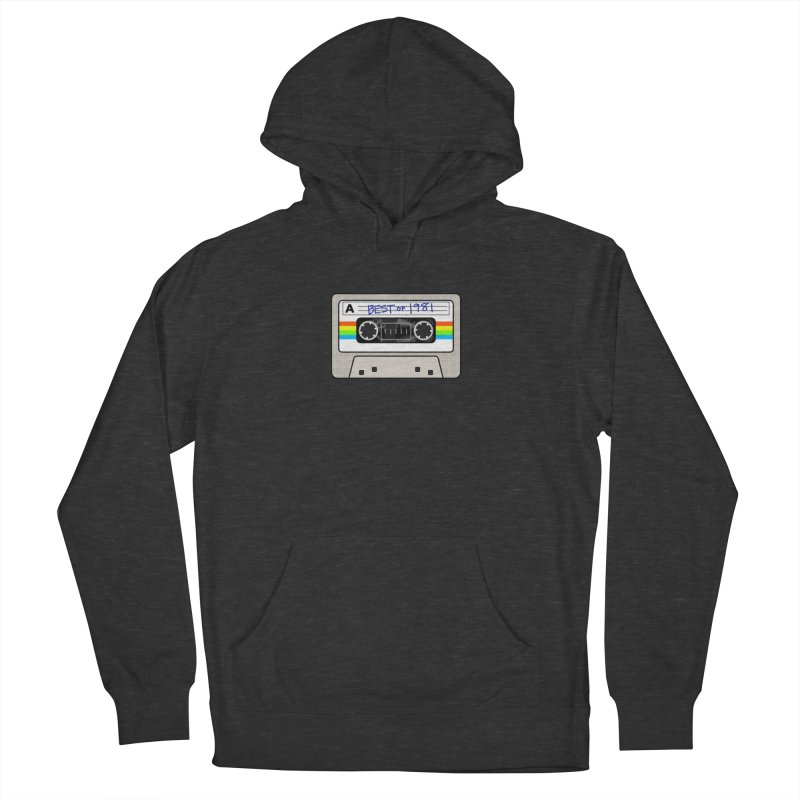 Mixtape: Best of 1981 Men's French Terry Pullover Hoody by Tees, prints, and more by Kiki B
