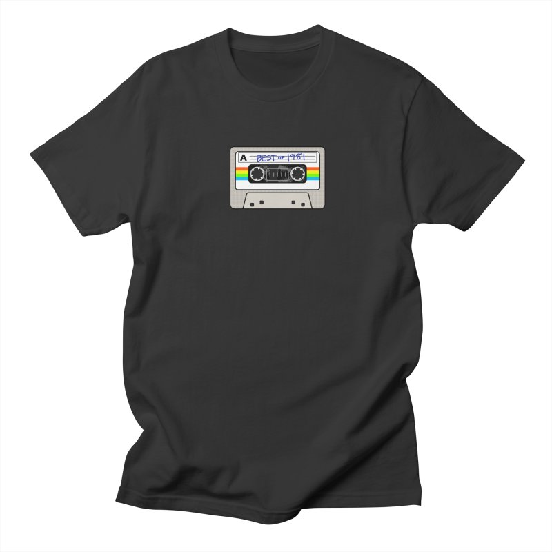 Mixtape: Best of 1981 Women's Unisex T-Shirt by Tees, prints, and more by Kiki B